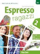 Cover-Bild zu Espresso ragazzi 2. Lehr- und Arbeitsbuch mit DVD und Audio-CD - Schulbuchausgabe von Orlandino, Euridice