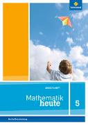 Cover-Bild zu Mathematik heute 5. Arbeitsheft mit Lösungen. Grundschulen. Berlin und Brandenburg