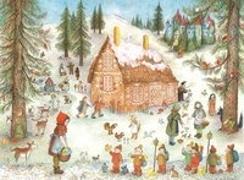 Cover-Bild zu Märchenwald Adventskalender von Bernadette (Illustr.)