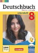 Cover-Bild zu Deutschbuch, Sprach- und Lesebuch, Zu allen erweiterten Ausgaben, 8. Schuljahr, Arbeitsheft mit Lösungen und Übungs-CD-ROM von Dick, Friedrich