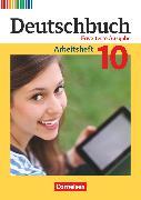 Cover-Bild zu Deutschbuch, Sprach- und Lesebuch, Zu allen erweiterten Ausgaben, 10. Schuljahr, Arbeitsheft mit Lösungen von Dick, Friedrich