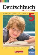 Cover-Bild zu Deutschbuch, Sprach- und Lesebuch, Zu allen erweiterten Ausgaben, 5. Schuljahr, Handreichungen für den Unterricht, Kopiervorlagen und CD-ROM von Berghaus, Christoph