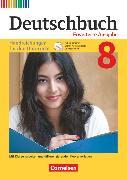 Cover-Bild zu Deutschbuch, Sprach- und Lesebuch, Zu allen erweiterten Ausgaben, 8. Schuljahr, Handreichungen für den Unterricht, Kopiervorlagen und CD-ROM von Dick, Friedrich