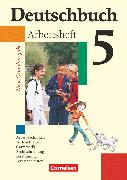 Cover-Bild zu Deutschbuch, Sprach- und Lesebuch, Grundausgabe 2006, 5. Schuljahr, Arbeitsheft mit Lösungen von Berghaus, Christoph
