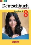 Cover-Bild zu Deutschbuch, Sprach- und Lesebuch, Zu allen erweiterten Ausgaben, 8. Schuljahr, Arbeitsheft mit Lösungen von Dick, Friedrich