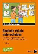 Cover-Bild zu Ähnliche Vokale unterscheiden von Rehschuh-Blasse, Ulrike