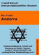 Cover-Bild zu Andorra - Lektürehilfe und Interpretationshilfe: Interpretationen und Vorbereitungen für den Deutschunterricht (eBook) von Frisch, Max
