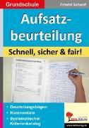 Cover-Bild zu Aufsatzbeurteilung in der Grundschule (eBook) von Schardt, Friedel