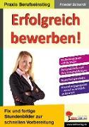 Cover-Bild zu Erfolgreich bewerben! (eBook) von Schardt, Friedel