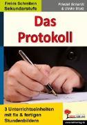 Cover-Bild zu Das Protokoll (eBook) von Schardt, Friedel
