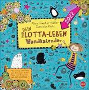 Cover-Bild zu Lotta-Leben Broschurkalender 2022 von Panterrmüller, Alice
