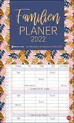 Cover-Bild zu Tropical Leaves Familienplaner XL Kalender 2022 von Heye (Hrsg.)