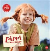Cover-Bild zu Pippi Langstrumpf Broschurkalender 2022 von Heye (Hrsg.)