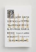 Cover-Bild zu Rilke, Rainer Maria: POEMS FROM THE BK OF HOURS