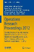 Cover-Bild zu Operations Research Proceedings 2012 (eBook) von Breitner, Michael (Hrsg.)