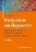 Cover-Bild zu Manipulation von Abgaswerten (eBook) von Borgeest, Kai