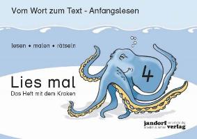 Cover-Bild zu Lies mal 4 - Das Heft mit dem Kraken von Debbrecht, Jan