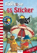 Cover-Bild zu Akkord Film Produktion GmbH, (Gestaltet): Der kleine Rabe Socke: 55 Sticker zur TV-Serie