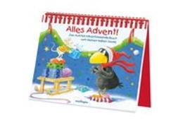 Cover-Bild zu Moost, Nele: Der kleine Rabe Socke: Alles Advent!