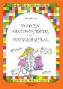 Cover-Bild zu 20 Notenkreuzworträtsel für Fortgeschrittene von Fink, Alexandra