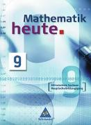 Cover-Bild zu Mathematik heute 9. Schülerband. Mittelschule Sachsen Hauptschulbildungsgang