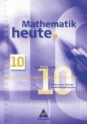 Cover-Bild zu Mathematik heute 10. Arbeitsheft. Mittelschule Sachsen