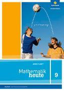 Cover-Bild zu Mathematik heute 9. Arbeitsheft. Hauptschulbildungsgang. Sachsen