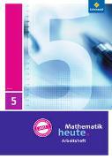 Cover-Bild zu Mathematik heute 5. Arbeitsheft mit Lösungen. Hessen