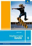 Cover-Bild zu Mathematik heute 6. Arbeitsheft mit Lösungen 6. Grundschulen. Berlin und Brandenburg