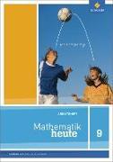 Cover-Bild zu Mathematik heute 9. Arbeitsheft. Realschulbildung. Sachsen