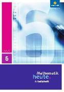 Cover-Bild zu Mathematik heute 6. Arbeitsheft. Sachsen-Anhalt