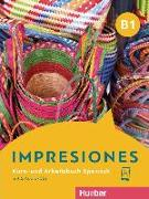 Cover-Bild zu Impresiones B1. Kurs- und Arbeitsbuch mit 2 Audio-CDs von Varela Navarro, Montserrat