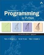 Cover-Bild zu Introduction to Programming in Python von Dondero, Robert