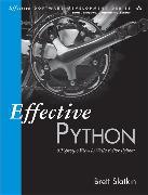 Cover-Bild zu Effective Python von Slatkin, Brett