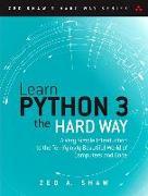 Cover-Bild zu Learn Python 3 the Hard Way von Shaw, Zed A.