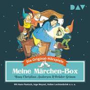 Cover-Bild zu Grimm, Jacob: Meine Märchen-Box - Die 34 schönsten Märchen-Hörspiele