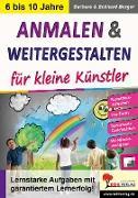 Cover-Bild zu Anmalen und weitergestalten für kleine Künstler (eBook) von Berger, Barbara