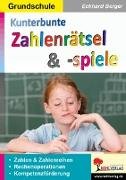 Cover-Bild zu Kunterbunte Zahlenrätsel & -spiele (eBook) von Berger, Eckhard