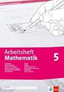 Cover-Bild zu Arbeitsheft Mathematik. Arbeitsheft mit Lösungsheft Klasse 5