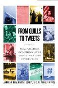 Cover-Bild zu From Quills to Tweets (eBook) von Dew, Andrea J. (Hrsg.)
