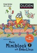 Cover-Bild zu Raab, Dorothee: Mein Miniblock mit Rabe Linus - Erste Zahlen