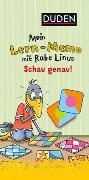 Cover-Bild zu Raab, Dorothee: Mein Lern-Memo mit Rabe Linus - Schau genau!