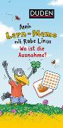 Cover-Bild zu Raab, Dorothee: Mein Lern-Memo mit Rabe Linus - Wo ist die Ausnahme?