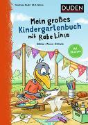 Cover-Bild zu Raab, Dorothee: Mein großes Kindergartenbuch mit Rabe Linus