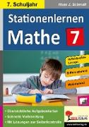 Cover-Bild zu Stationenlernen Mathe / Klasse 7 von Schmidt, Hans-J.