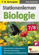 Cover-Bild zu Stationenlernen Biologie 7/8 von Botschen, Peter