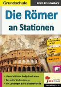 Cover-Bild zu Die Römer an Stationen (eBook)