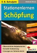 Cover-Bild zu Stationenlernen Schöpfung / Klasse 5-6 (eBook) von Kraus, Stefanie