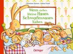 Cover-Bild zu Praml, Sabine: Wenn sieben kleine Hasen Schnupfennasen haben
