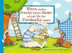 Cover-Bild zu Praml, Sabine: Wenn sieben freche kleine Hasen schnell in die Verstecke rasen